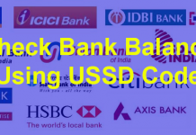 How To Check Bank Balance By Using USSD Code