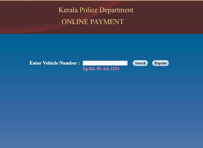 How To Check Vehicle Fine In Kerala And Pay Online