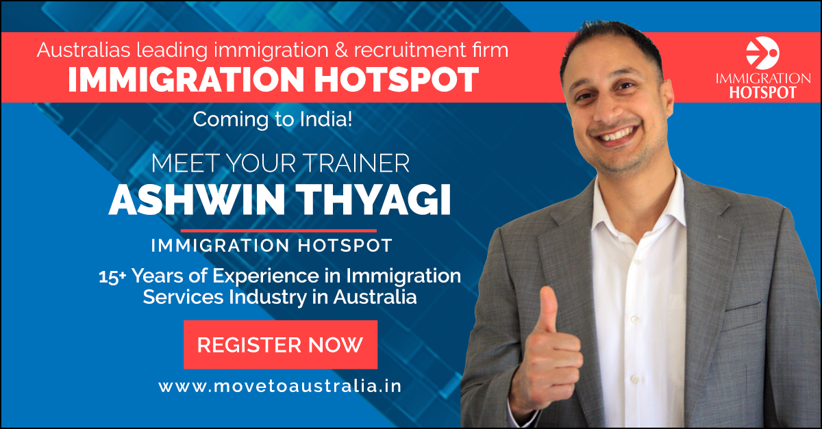 Migrate To Australia:Skilled Migration Seminar at Trivandrum on December 1st