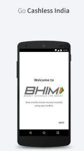 BHIM UPI App