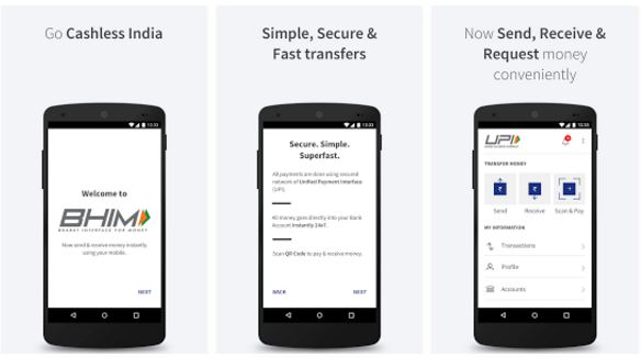 How To Use New UPI App BHIM To Send And Receive Money In India[Guide]