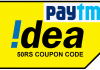 Idea PayTm Offer,Spend 5 Rs And Get 50 Rs PayTm Cash