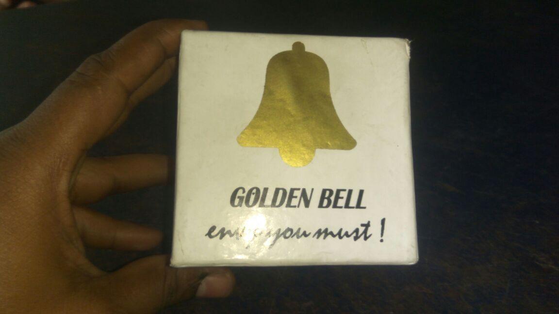 Golden Bell Original Chronograph Look Beige Dial Wrist Watch