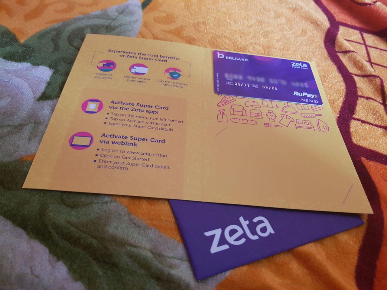 Zeta Mobile Wallet