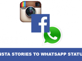 insta stories to whats app status