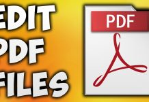 How edit PDF files for Free